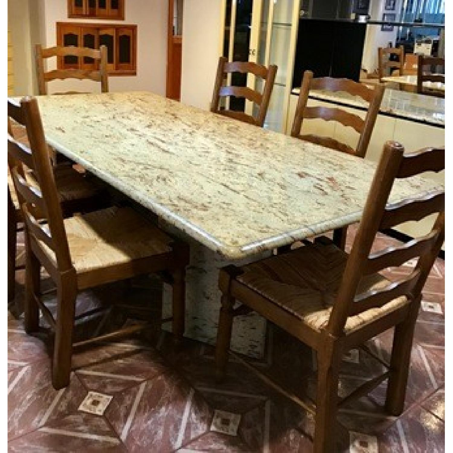 Granite Top Dining Table - image-2