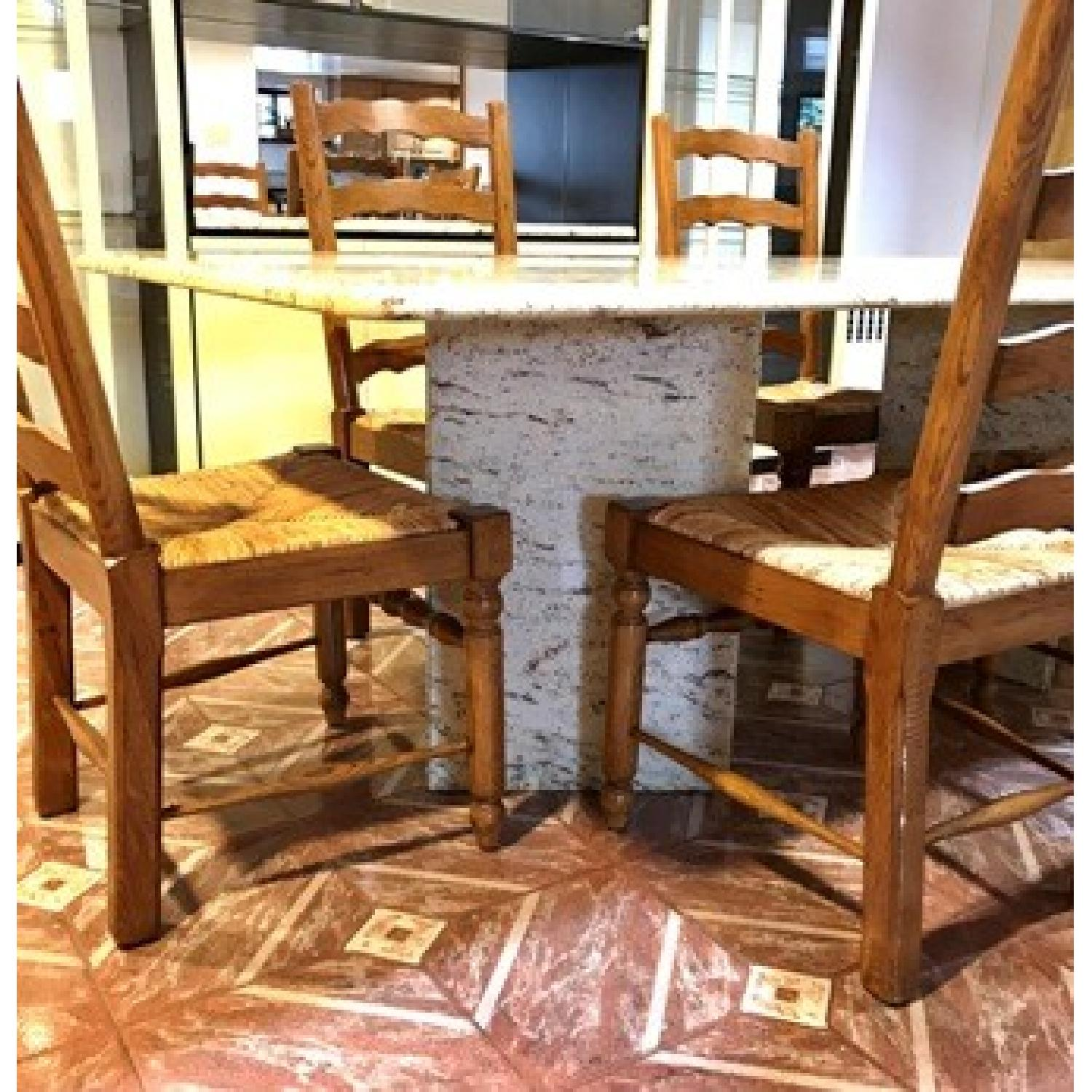 Granite Top Dining Table - image-3