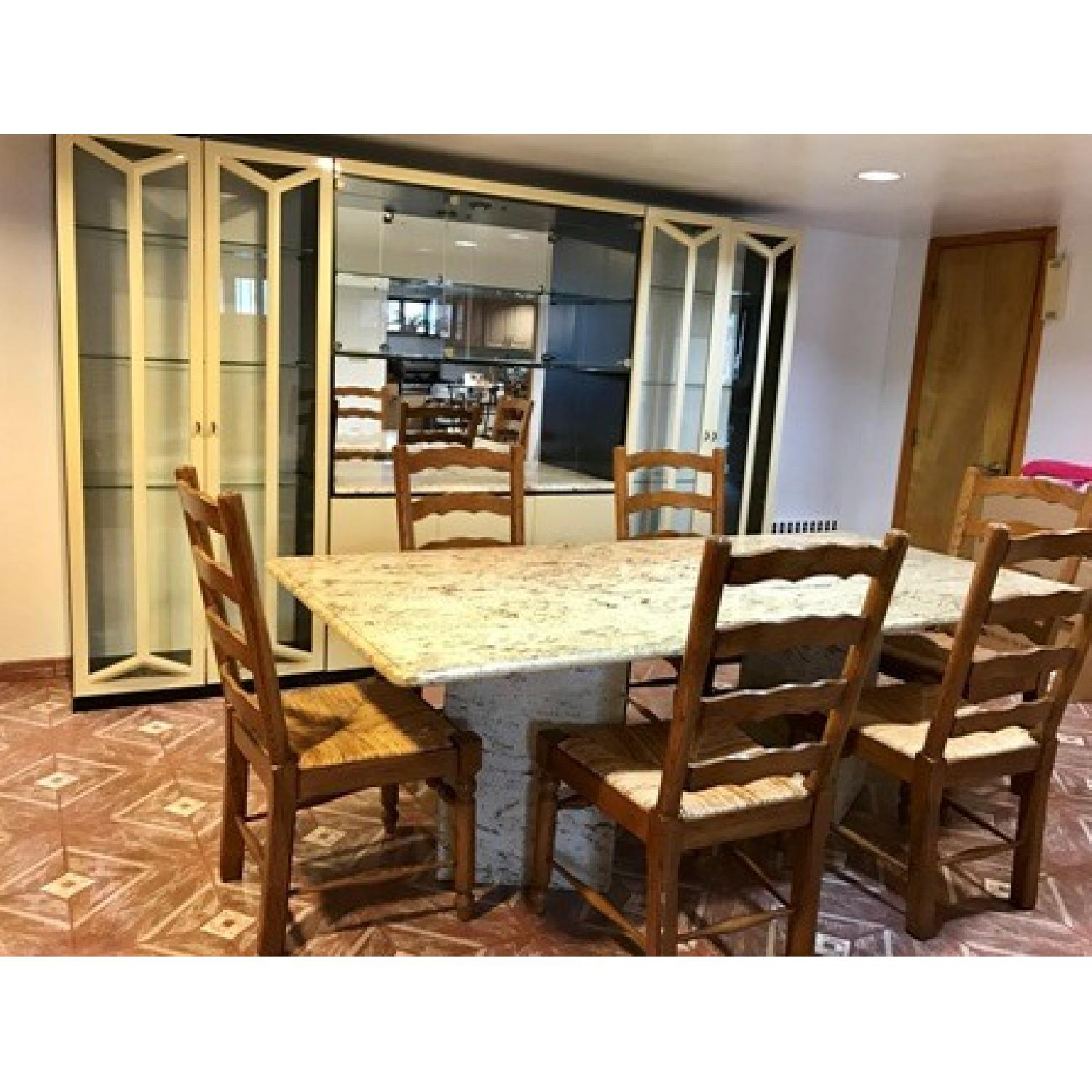 Granite Top Dining Table - image-4