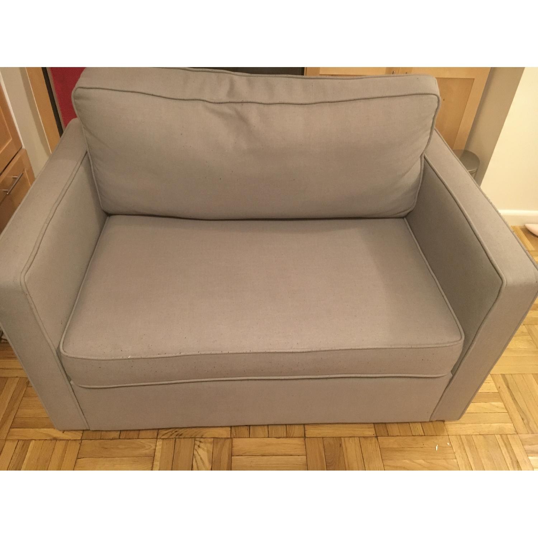 Chad Gray Sleeper Sofa - image-1