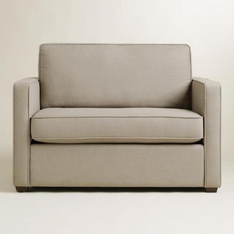 Chad Gray Sleeper Sofa - image-5