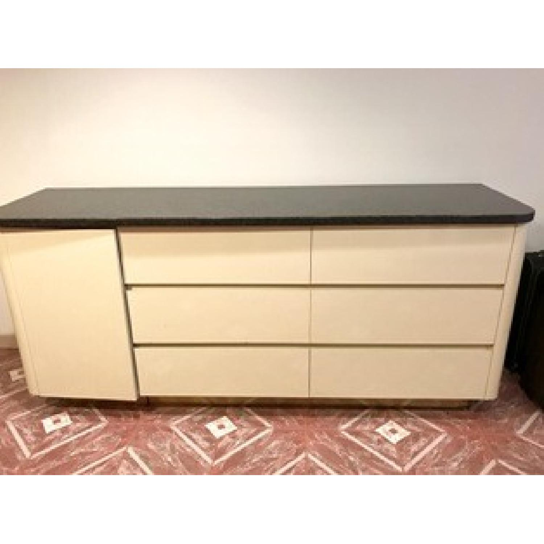 Black Granite Top Dresser - image-1