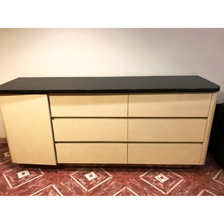 Black Granite Top Dresser - image-3