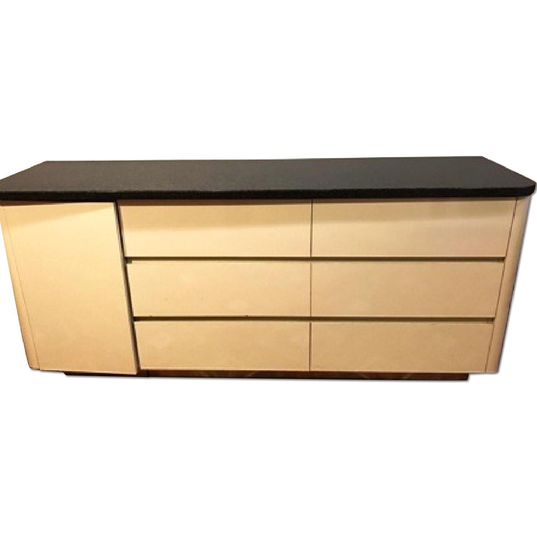 Black Granite Top Dresser - image-0