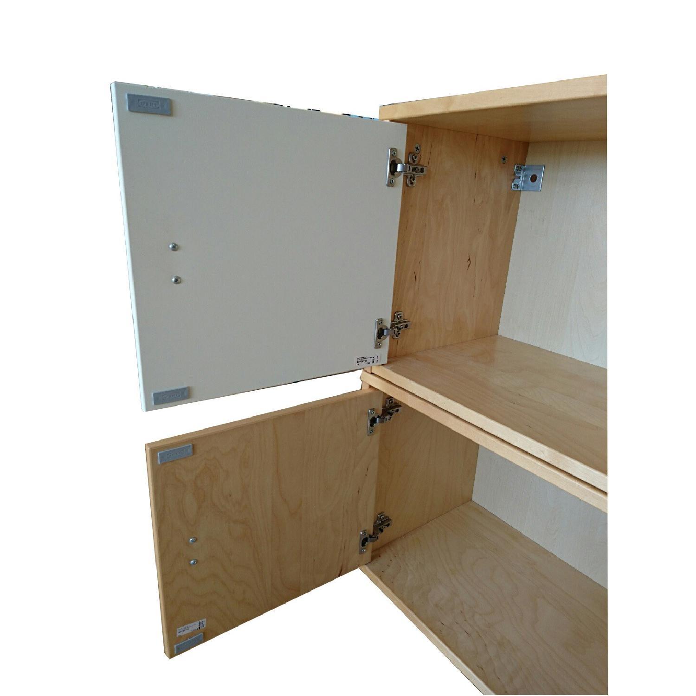 Ikea Wall Storage Units w/ Doors - image-2
