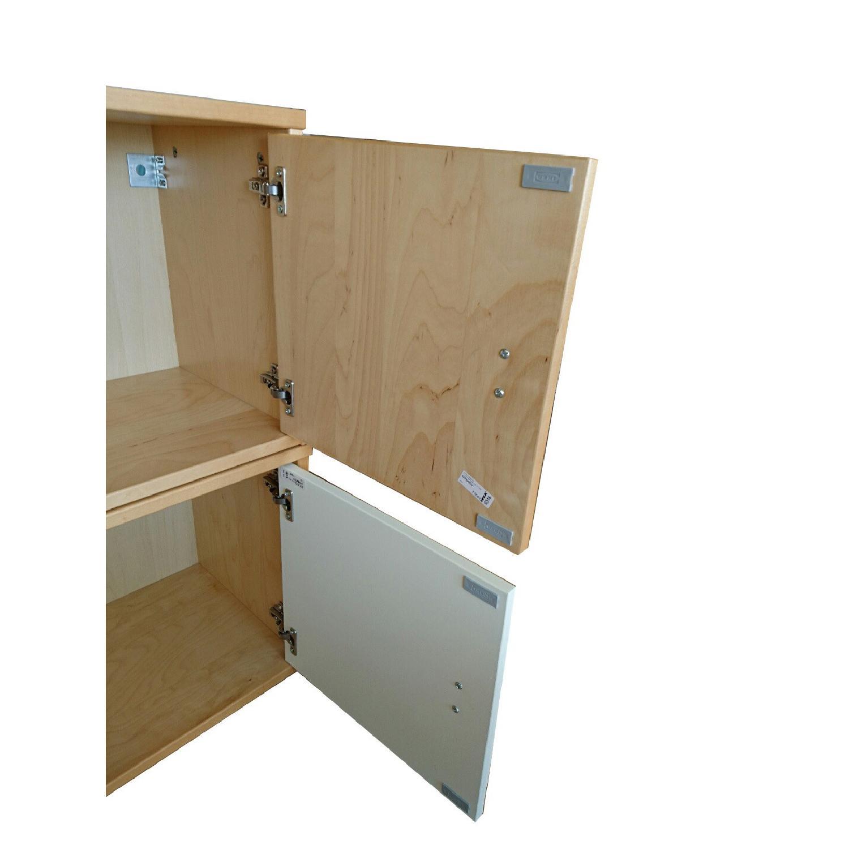 Ikea Wall Storage Units w/ Doors - image-3