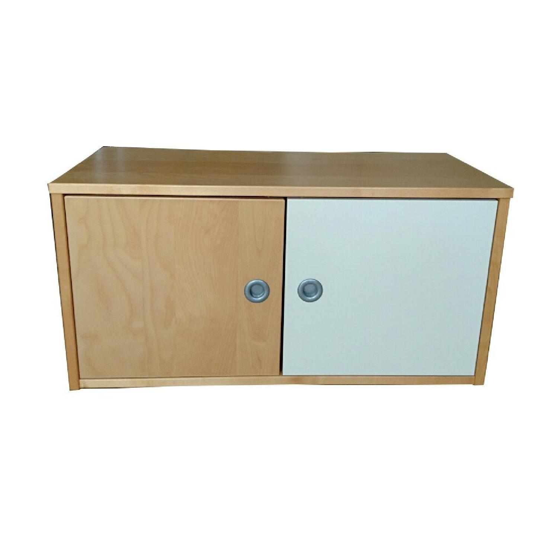 Ikea Wall Storage Units w/ Doors - image-9