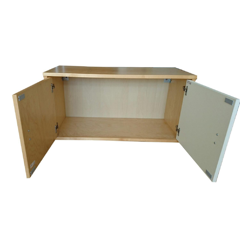 Ikea Wall Storage Units w/ Doors - image-10