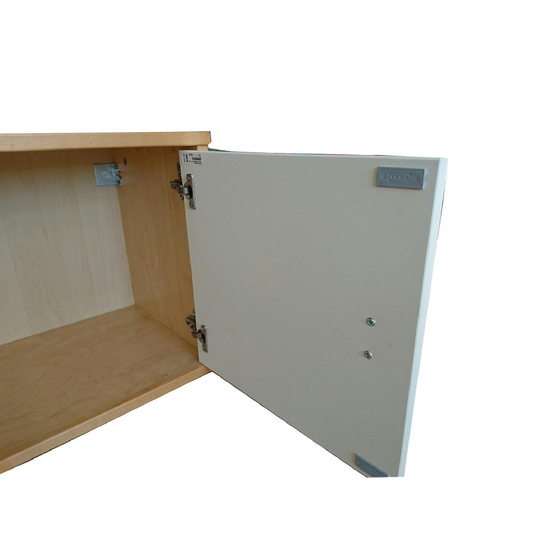 Ikea Wall Storage Units w/ Doors - image-12