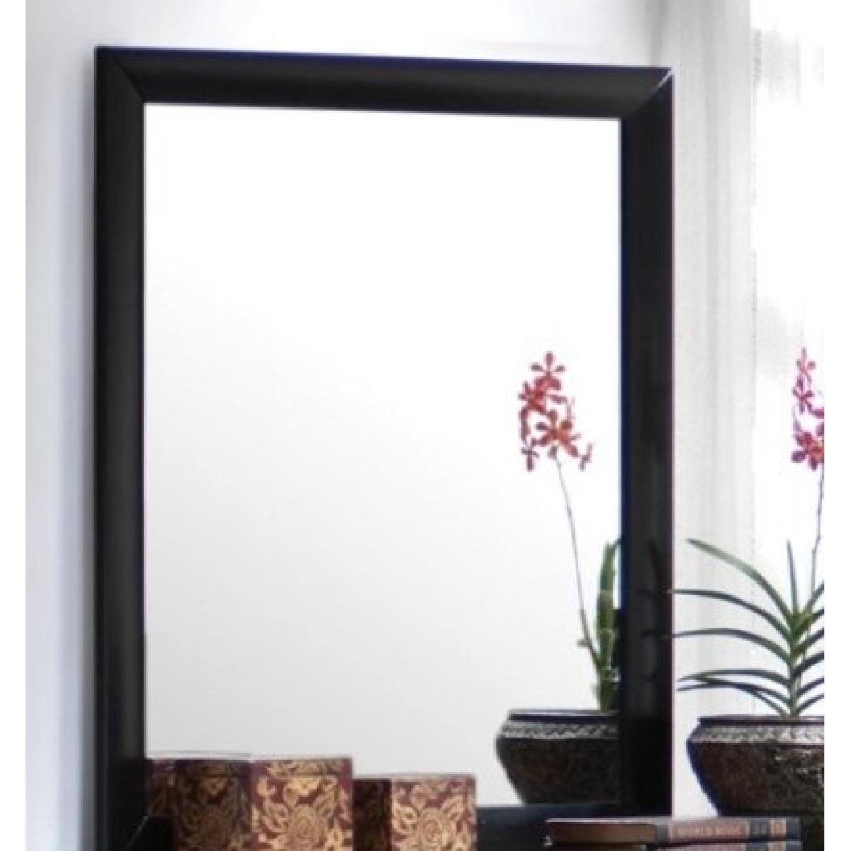 Mirror w/ Black Wood Frame - image-3