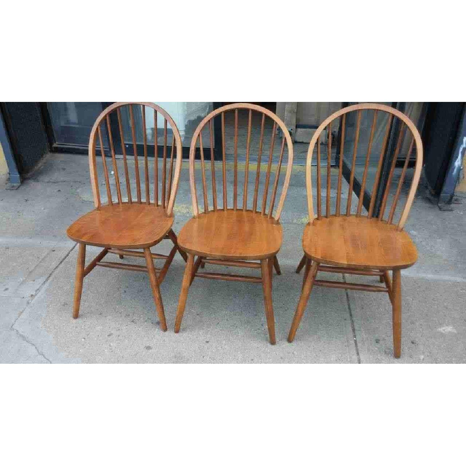 Solid Wood Dining Chairs - image-1