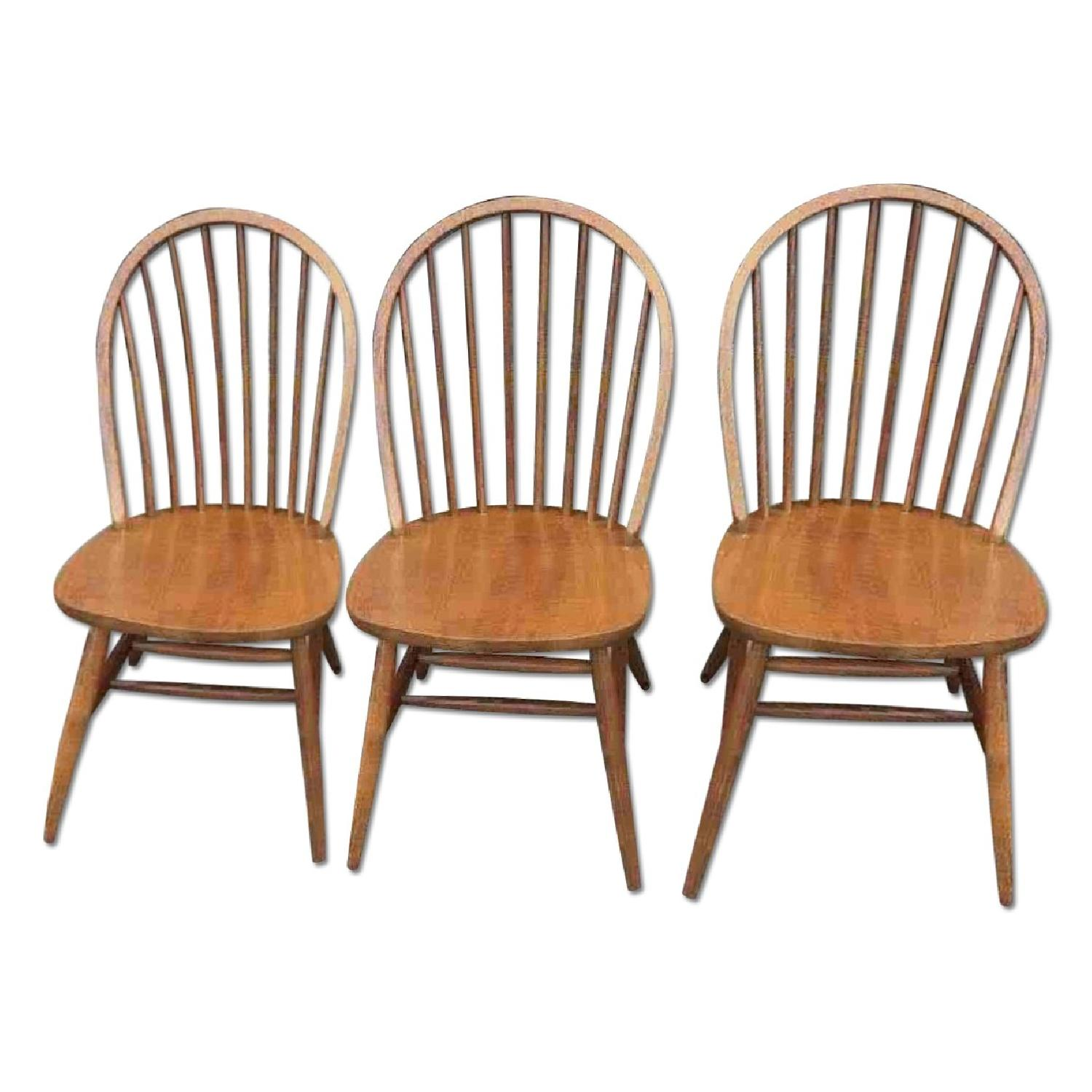 Solid Wood Dining Chairs - image-0