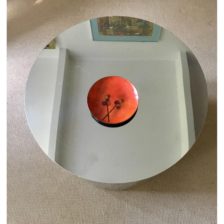 Paul Mayen Style Drum Coffee Table - image-6