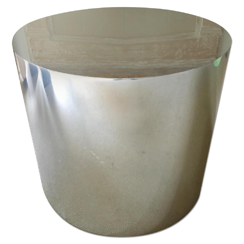 Paul Mayen Style Drum Coffee Table - image-0