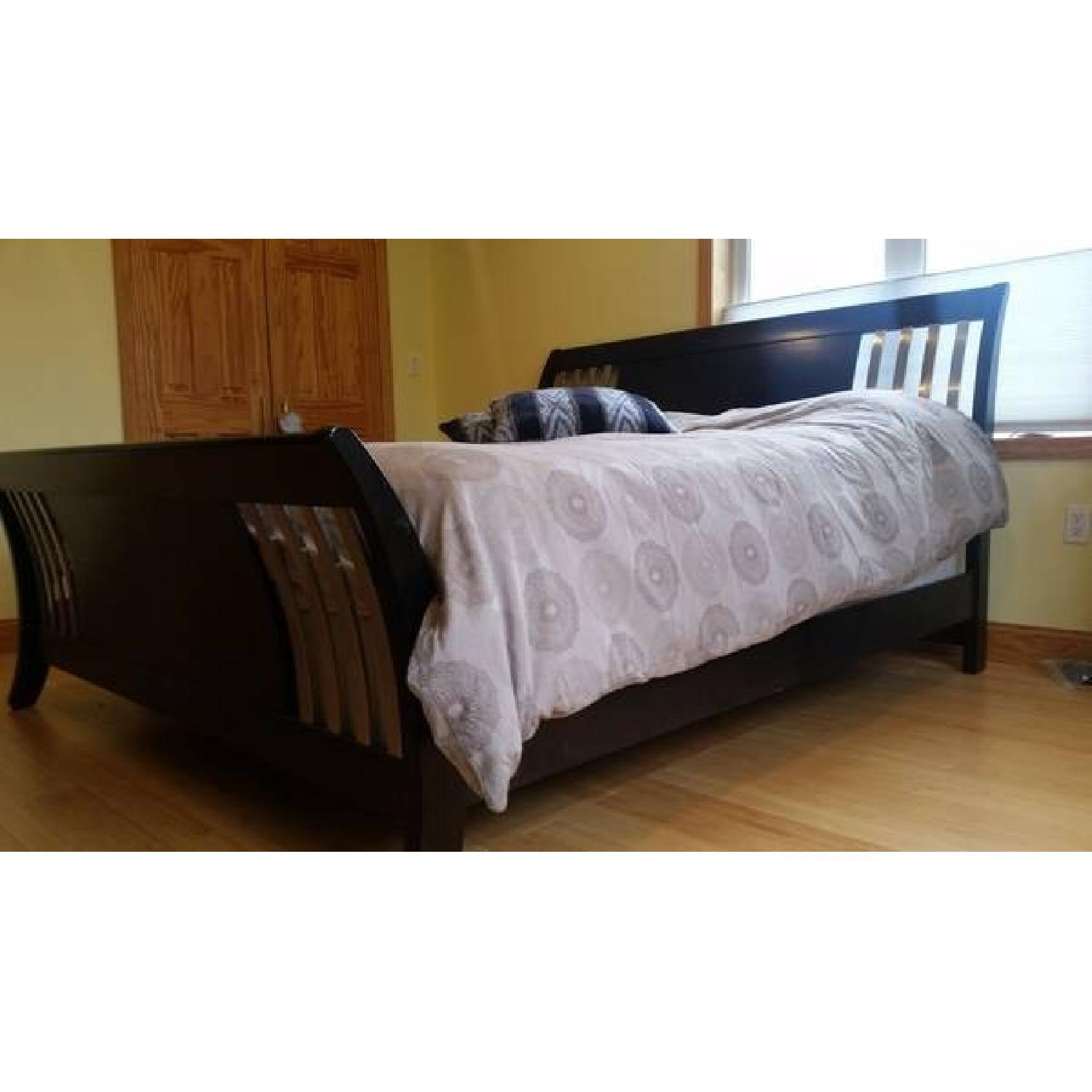 King Size Sleigh Bed Frame - image-8