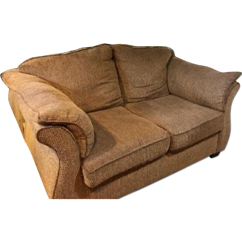 Brown Sofa + Loveseat - image-4