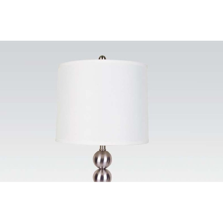 Modern Table Lamps w/ Chrome Base - image-2
