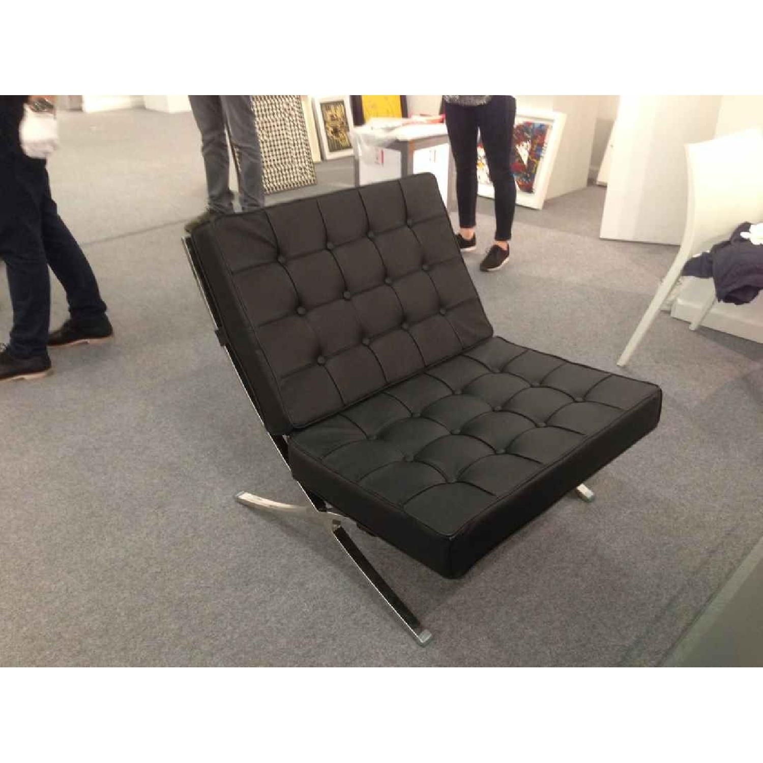 Barcelona Style Premium Leather Chair - image-1