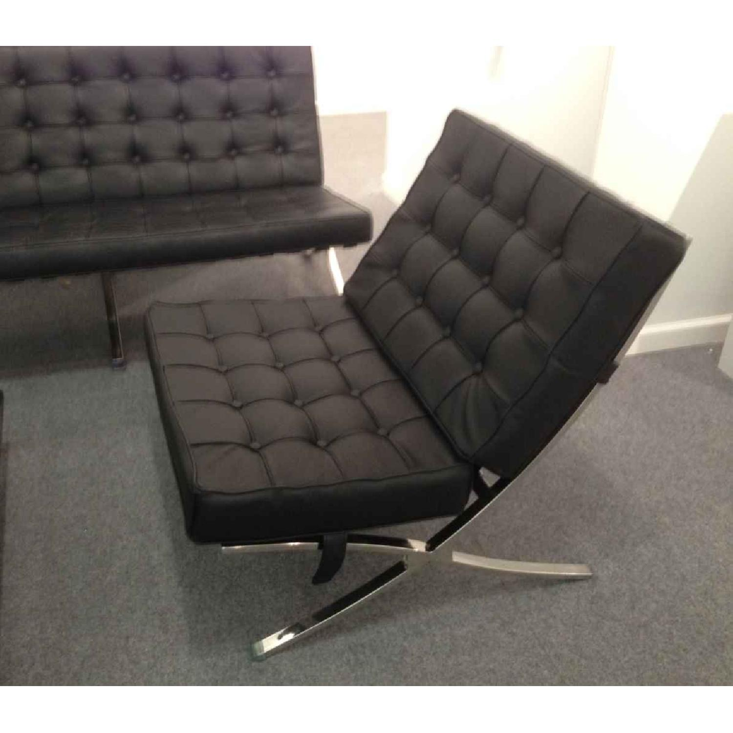 Barcelona Style Premium Leather Chair - image-2