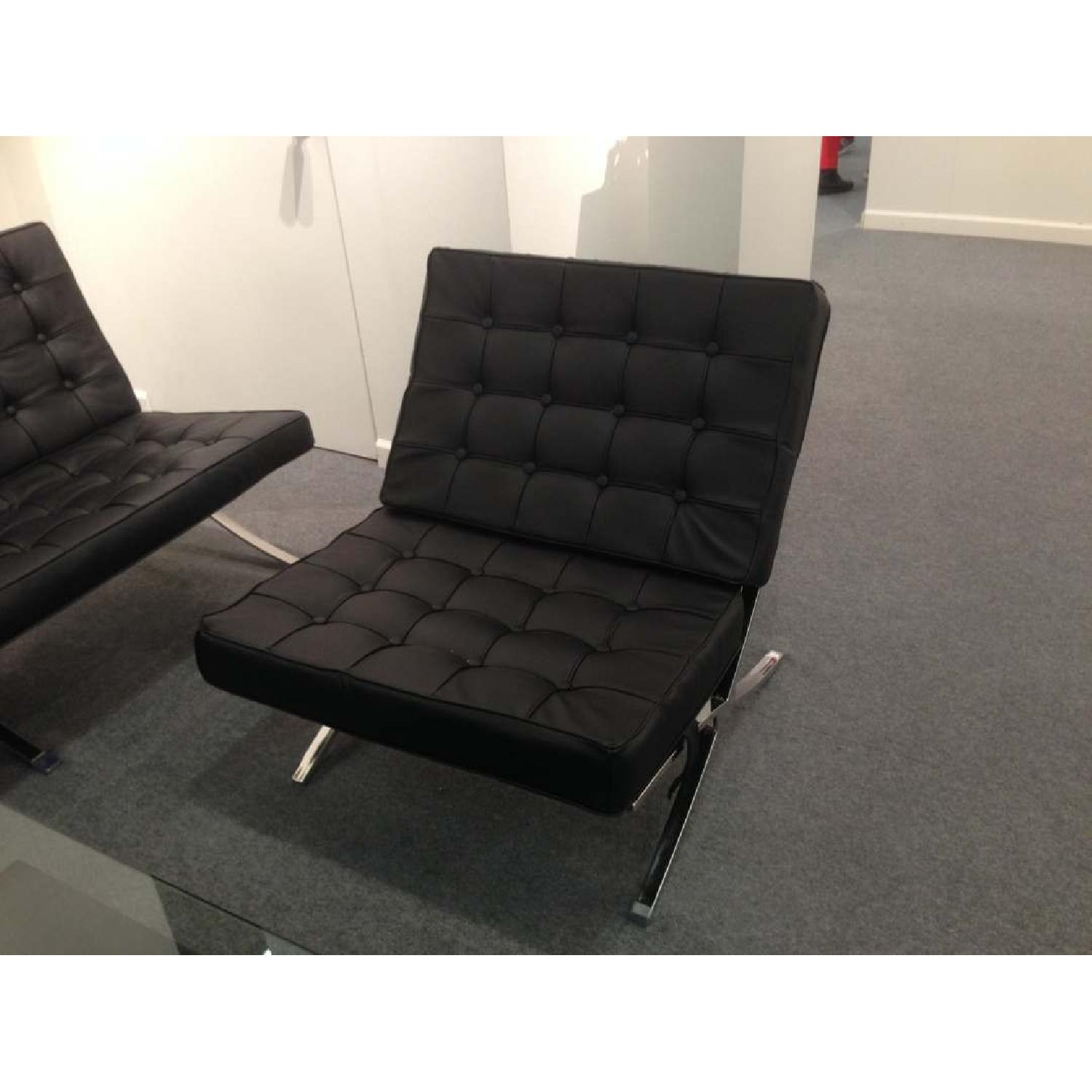 Barcelona Style Premium Leather Chair - image-3