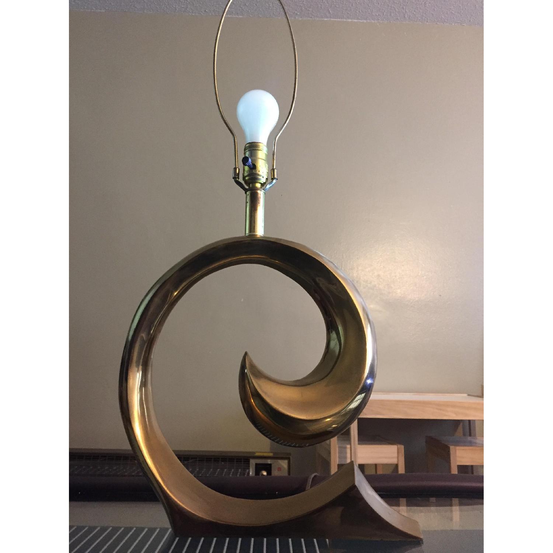Pierre Cardin Brass Table Lamp - image-5