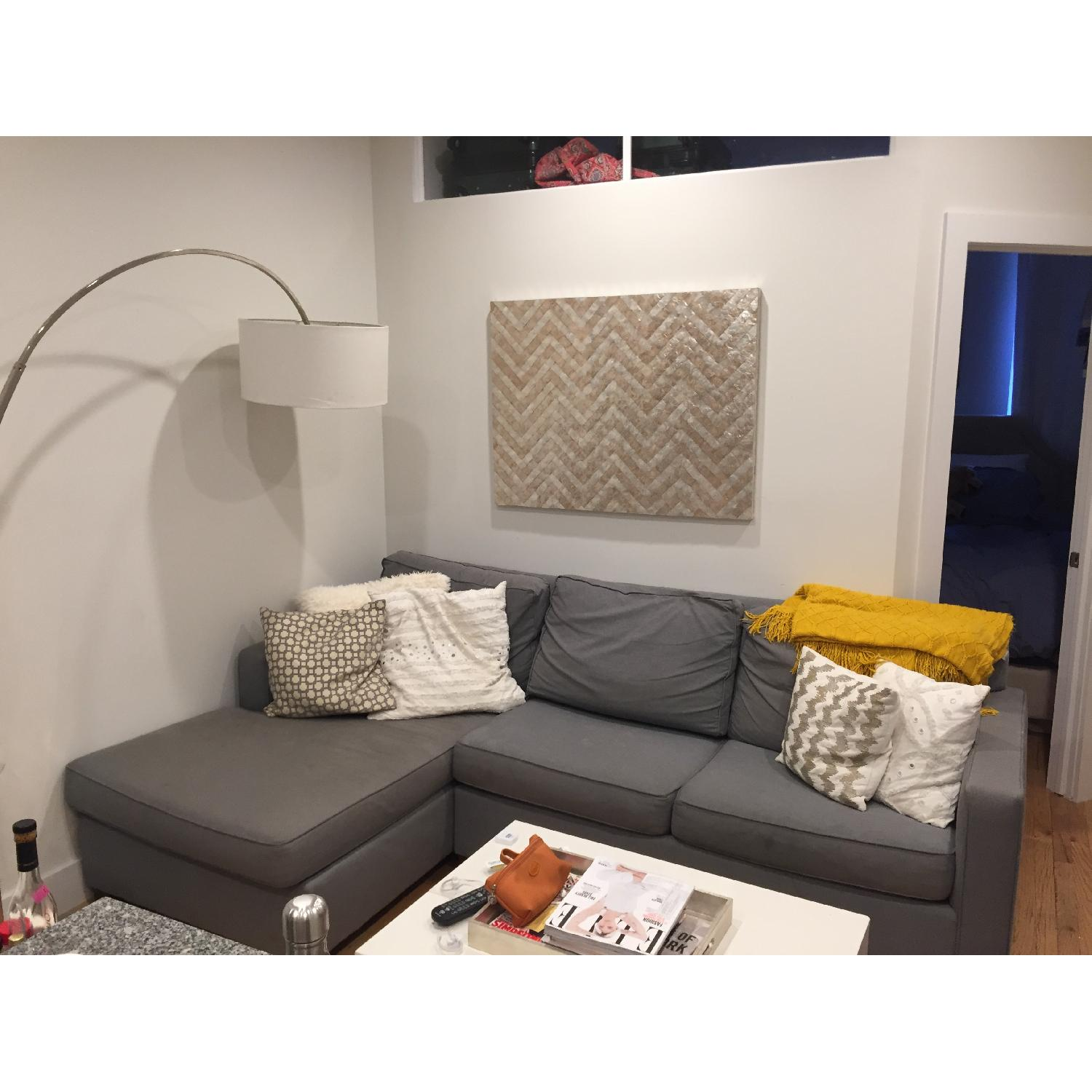 West Elm Henry 2-Piece Chaise Sectional - image-1