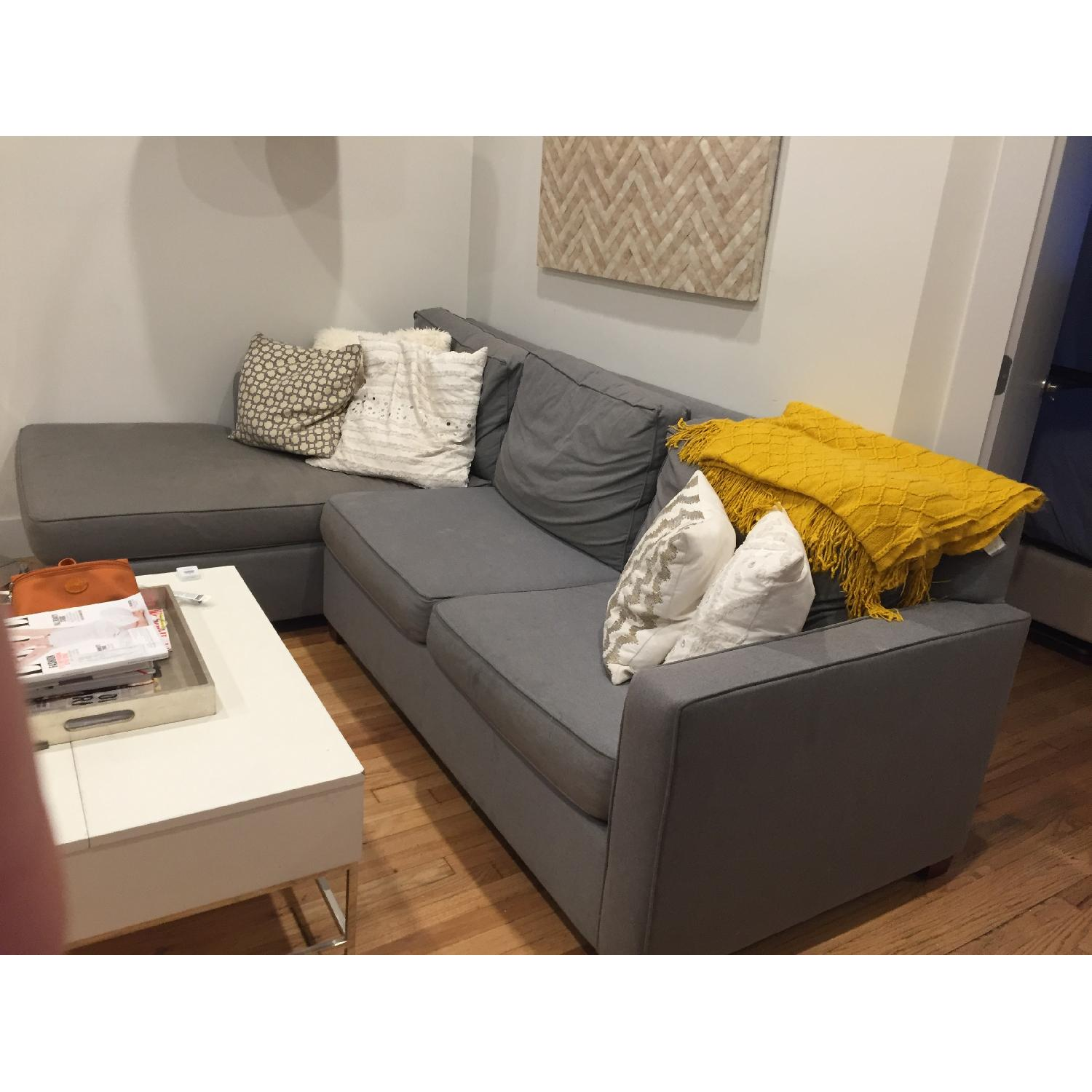 West Elm Henry 2-Piece Chaise Sectional - image-2