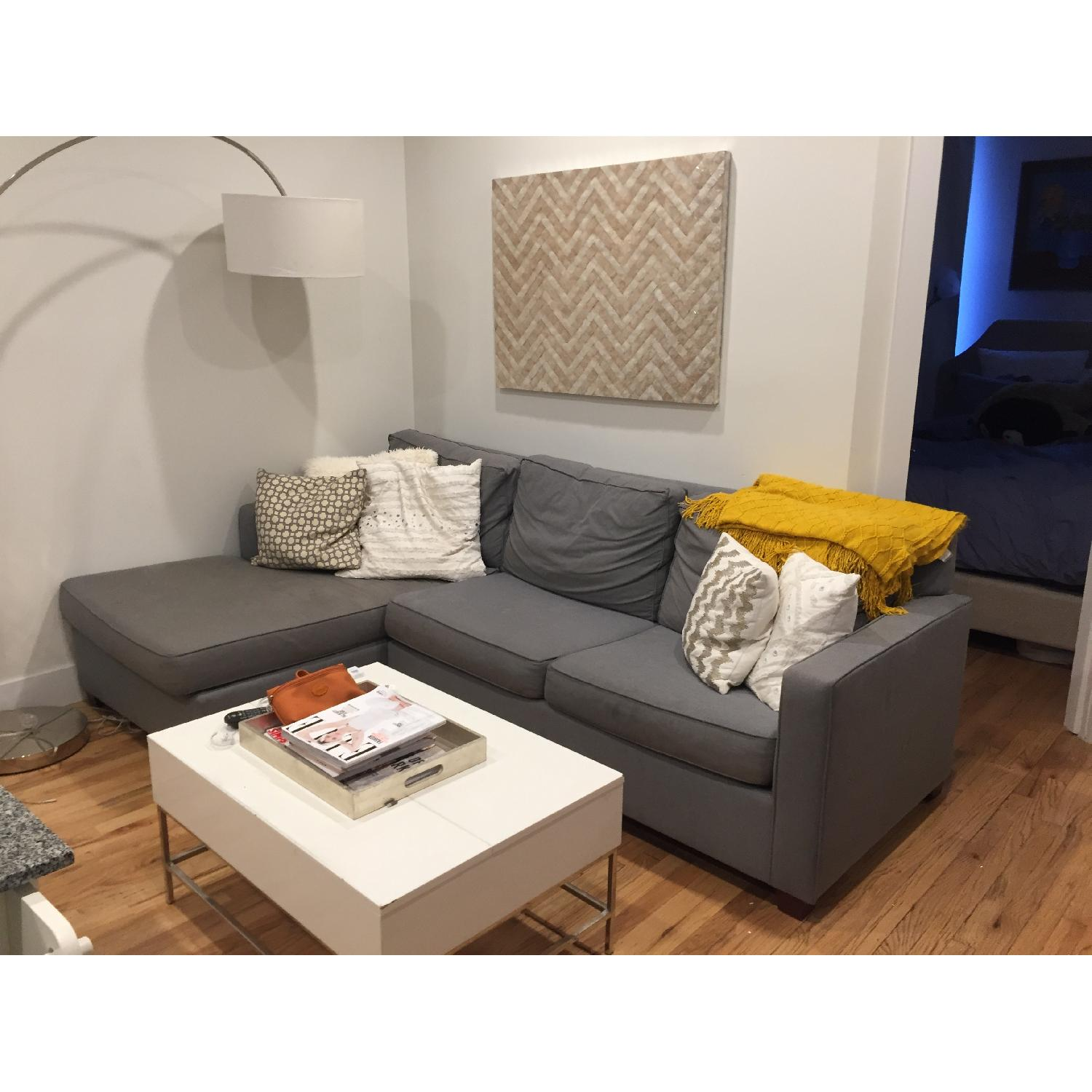 West Elm Henry 2-Piece Chaise Sectional - image-3