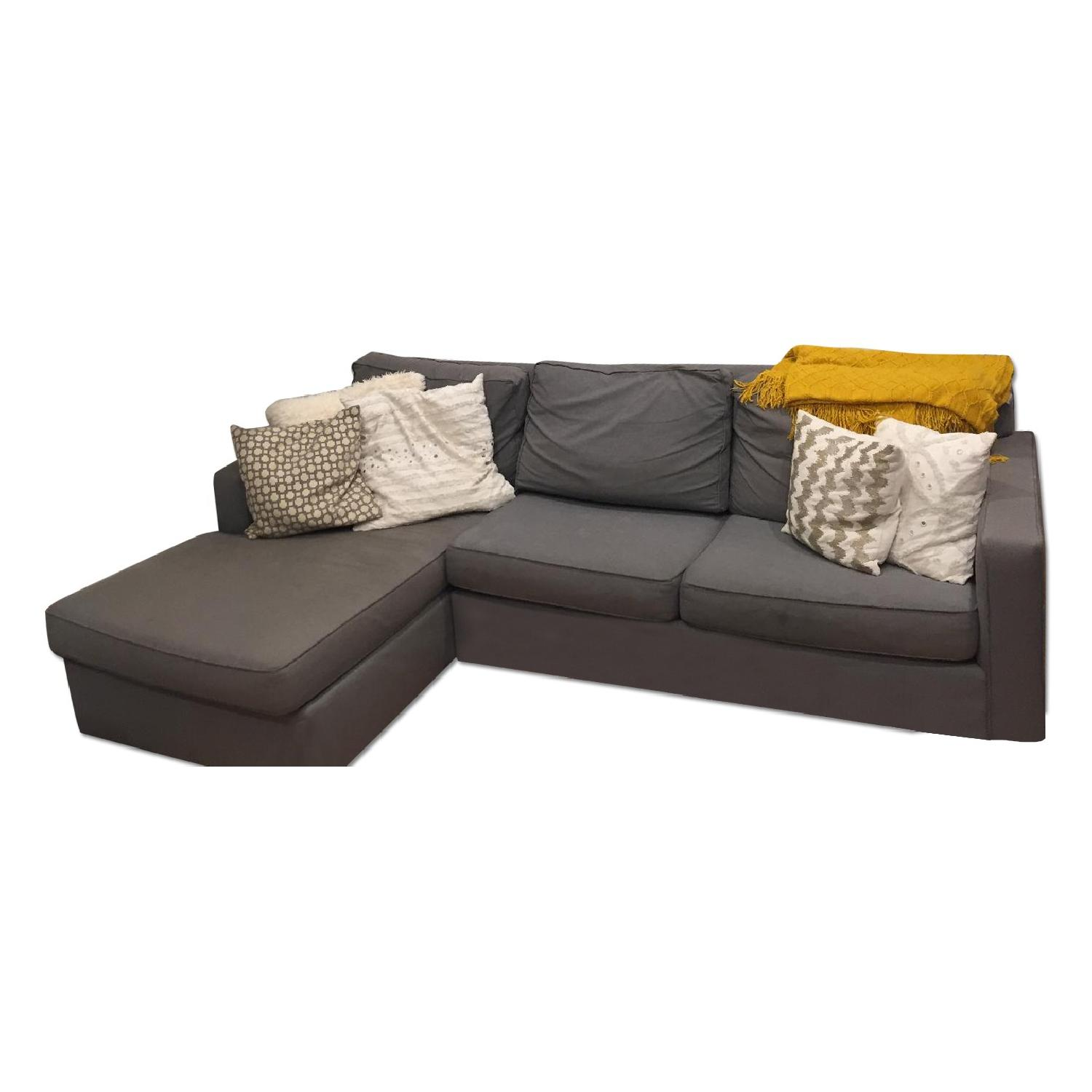 West Elm Henry 2-Piece Chaise Sectional - image-0