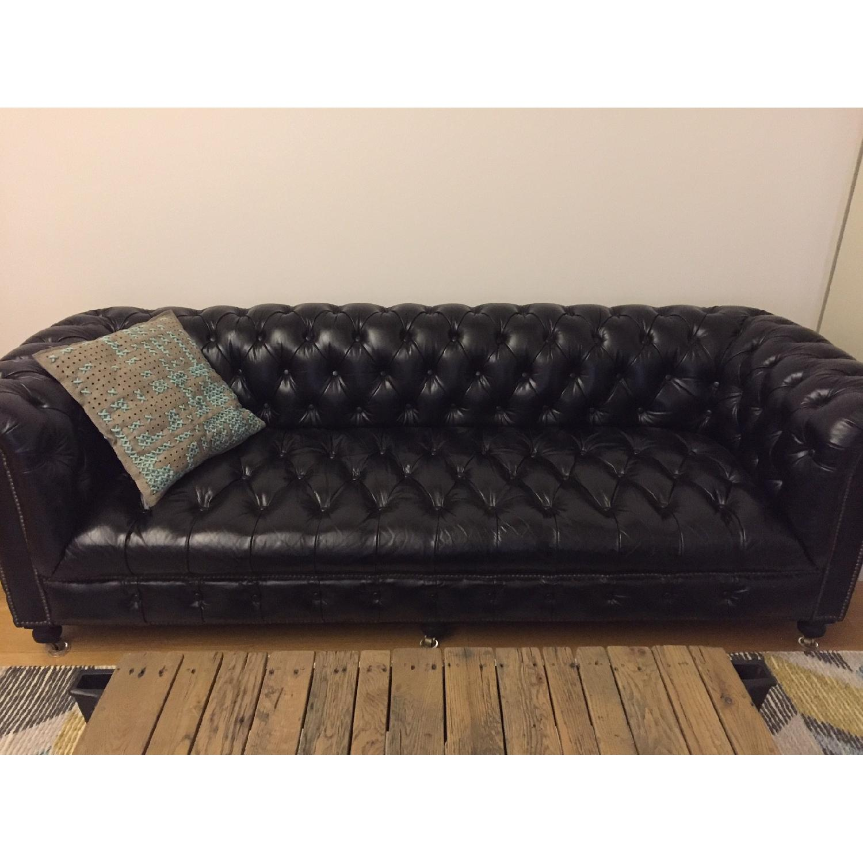 Restoration Hardware Cambridge Sofa - image-1