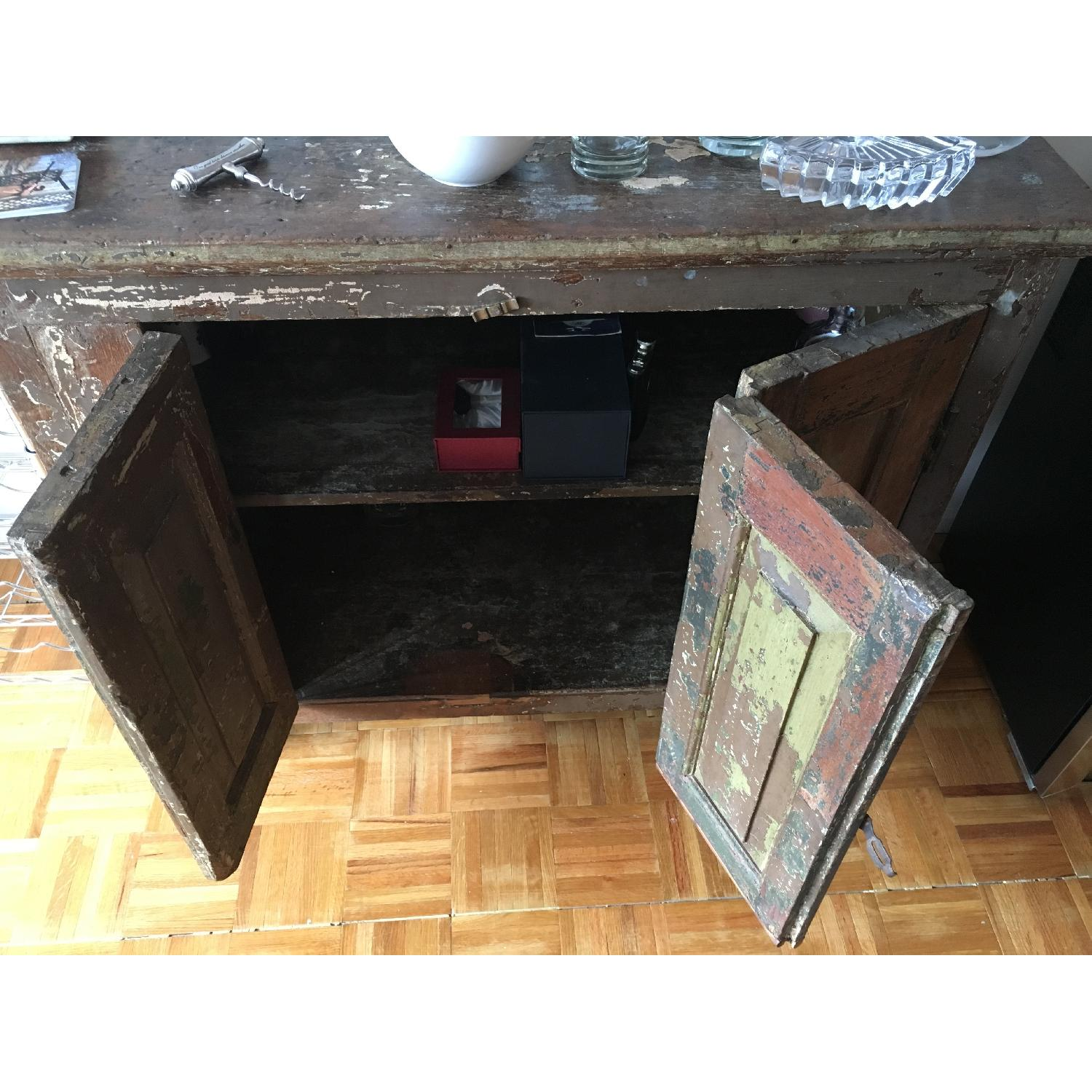 Antique 1920's Wooden Bar/Credenza from India - image-5