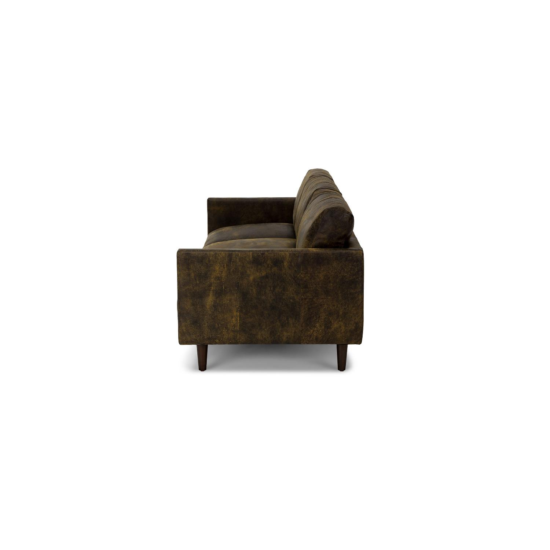 Article Nirvana Sofa in Dakota Smoke/Dark Brown - image-1