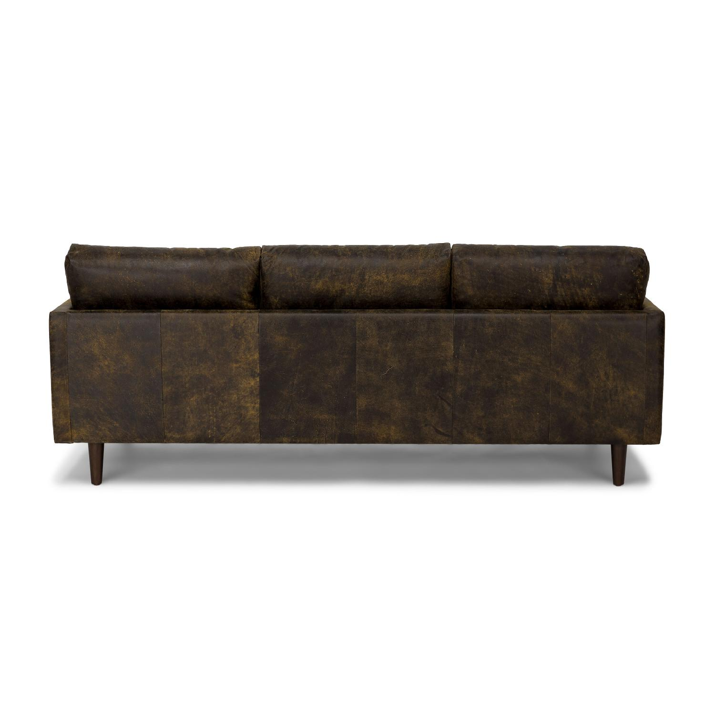 Article Nirvana Sofa in Dakota Smoke/Dark Brown - image-2