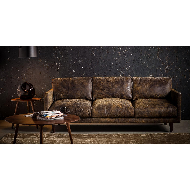 Article Nirvana Sofa in Dakota Smoke/Dark Brown - image-3
