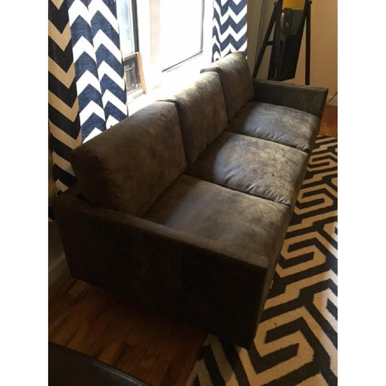 Article Nirvana Sofa in Dakota Smoke/Dark Brown - image-6