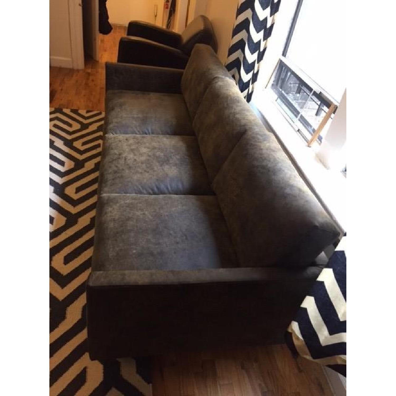 Article Nirvana Sofa in Dakota Smoke/Dark Brown - image-7