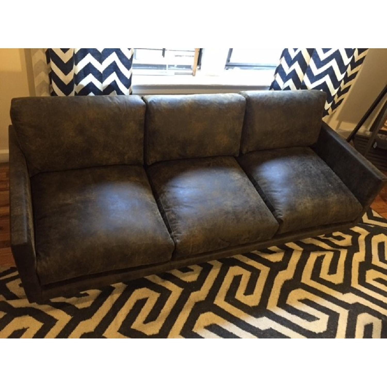 Article Nirvana Sofa in Dakota Smoke/Dark Brown - image-10