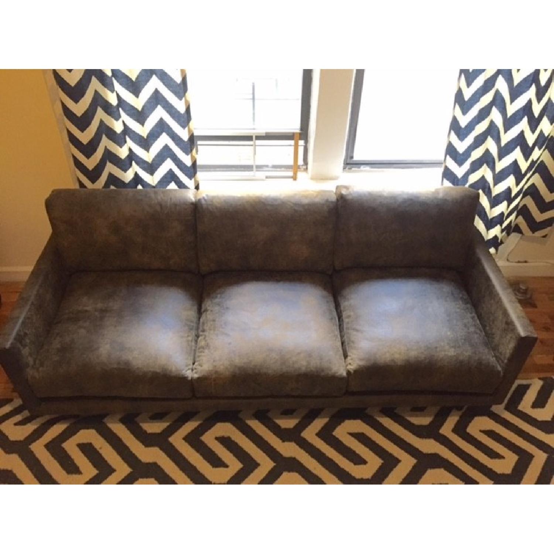 Article Nirvana Sofa in Dakota Smoke/Dark Brown - image-11