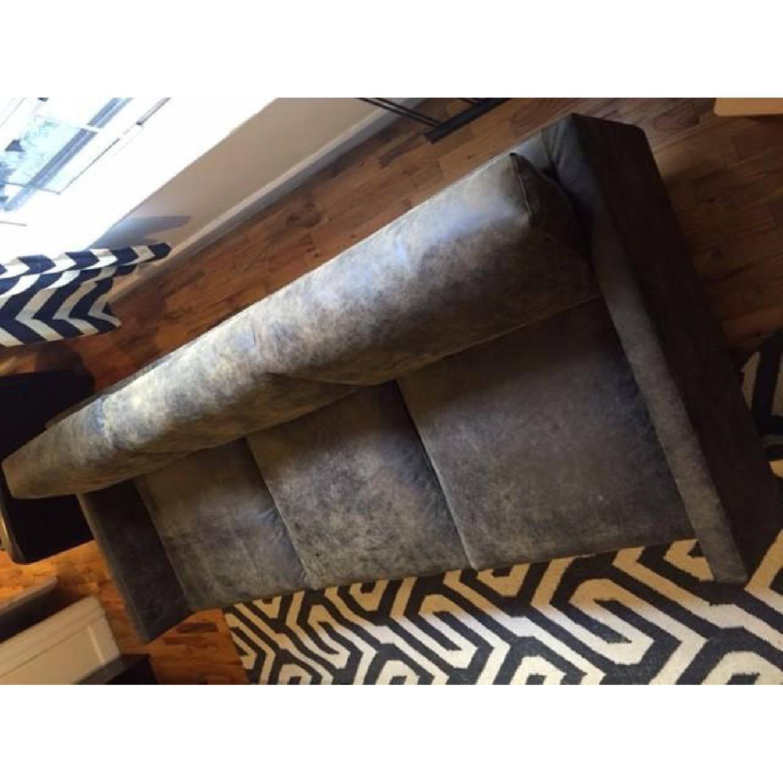 Article Nirvana Sofa in Dakota Smoke/Dark Brown - image-12