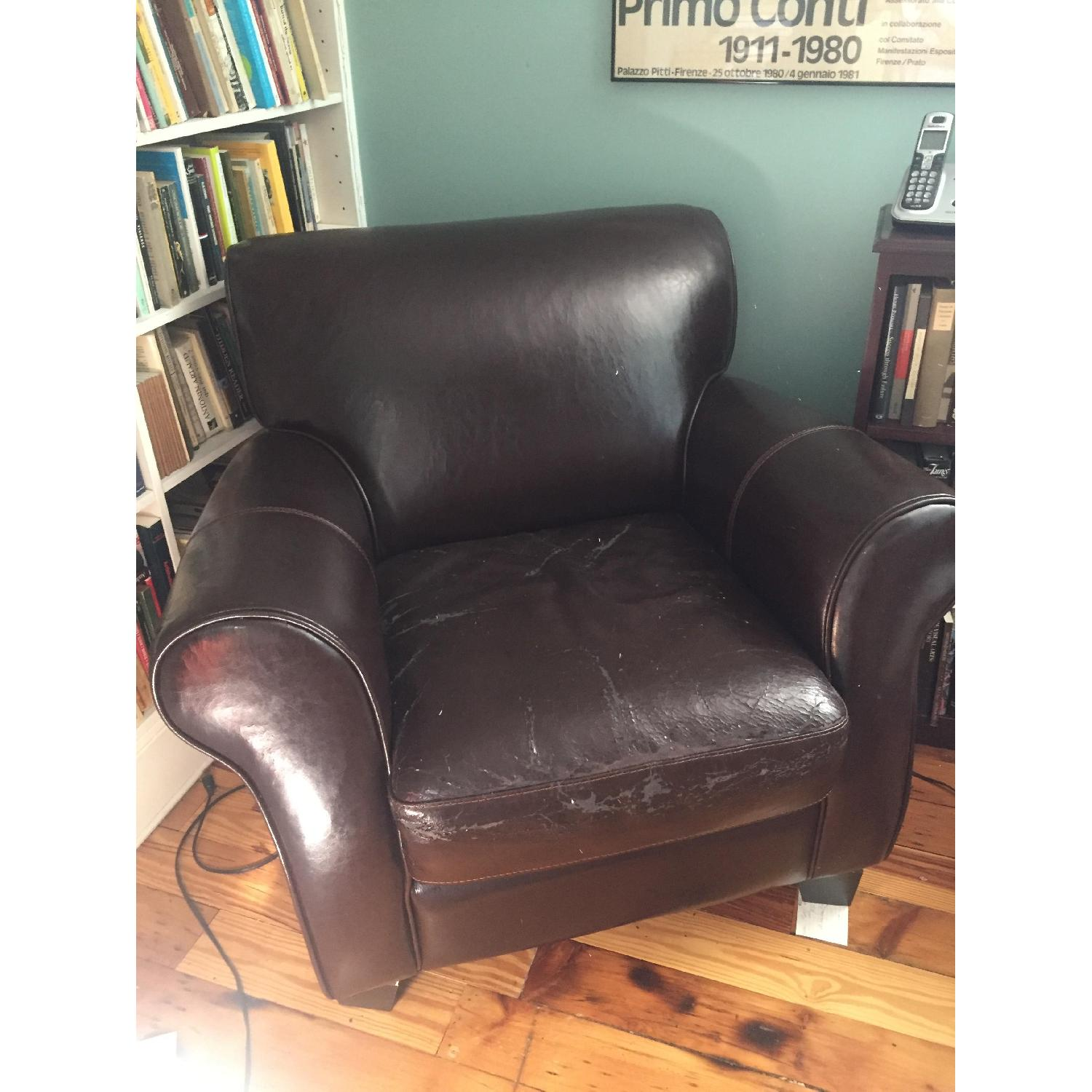 Leather Armchair - image-2