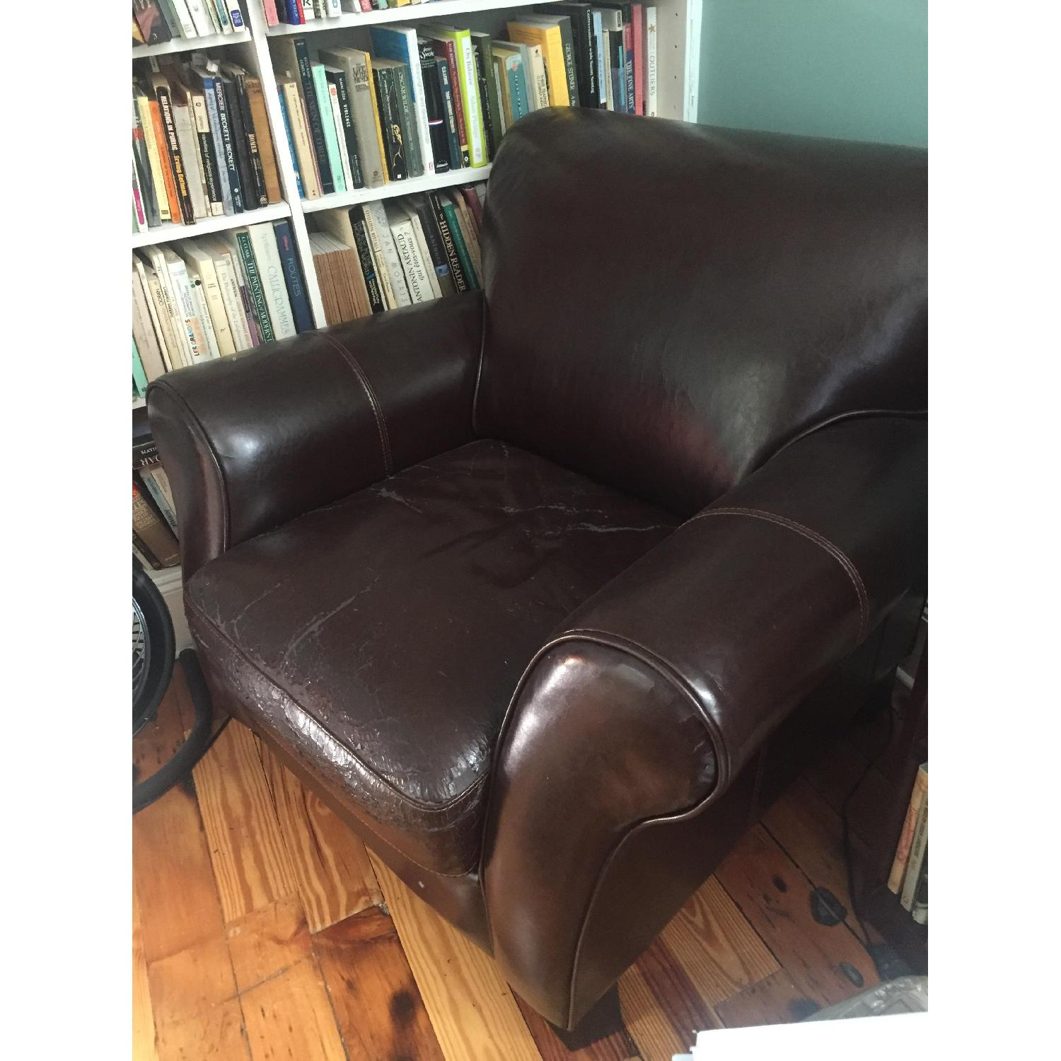 Leather Armchair - image-3