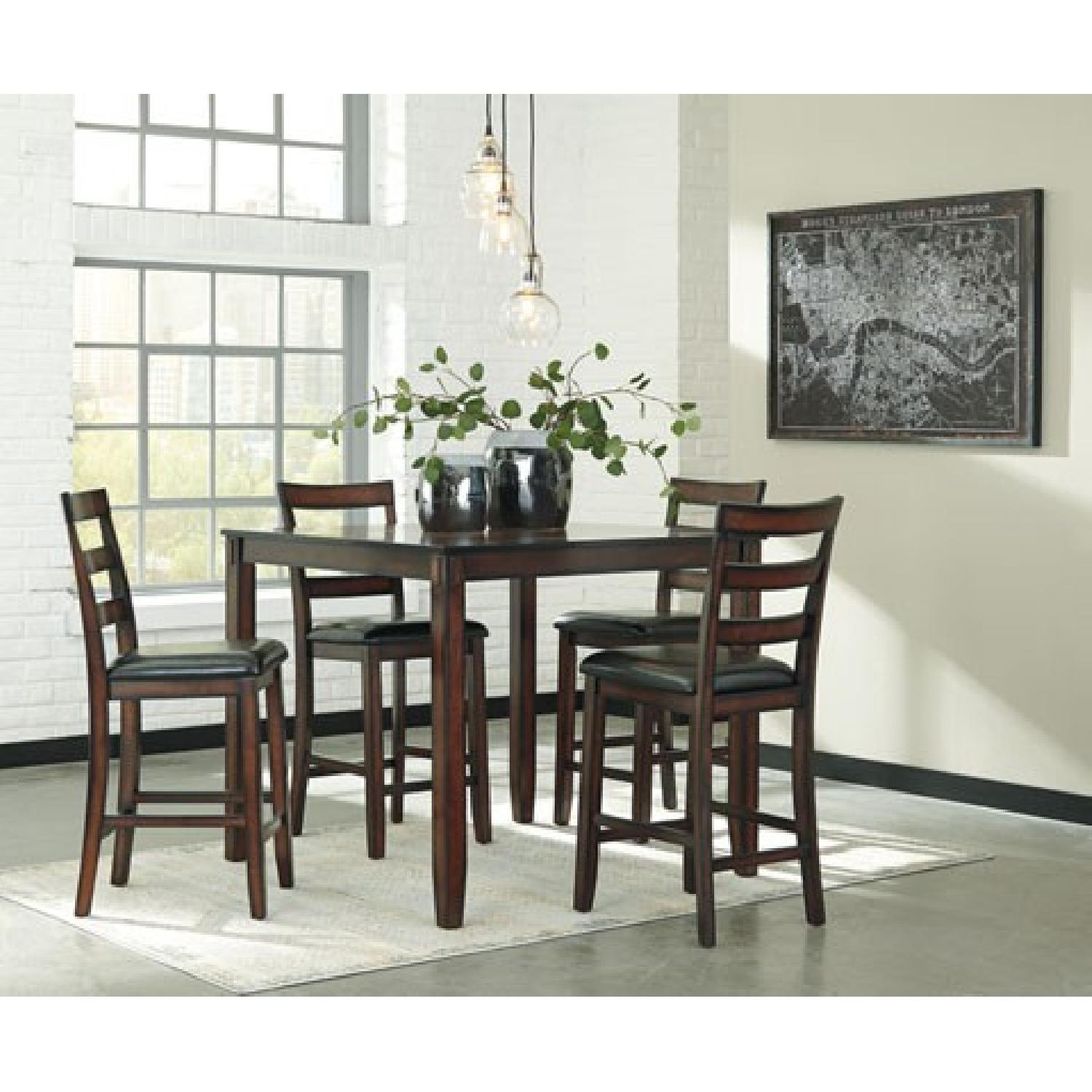 Ashley's Coviar Counter Height 5 Piece Dining Set - image-1