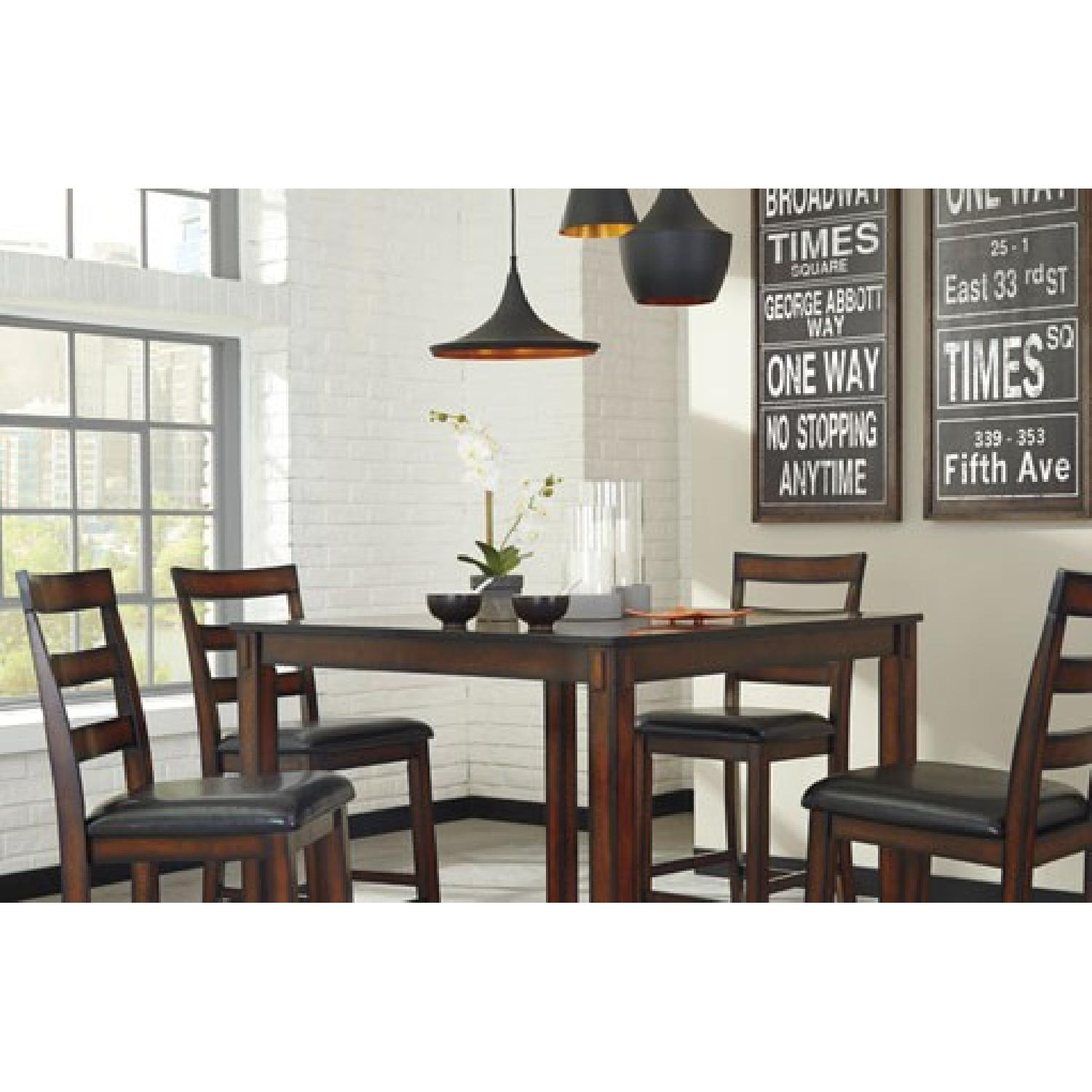 Ashley's Coviar Counter Height 5 Piece Dining Set - image-2