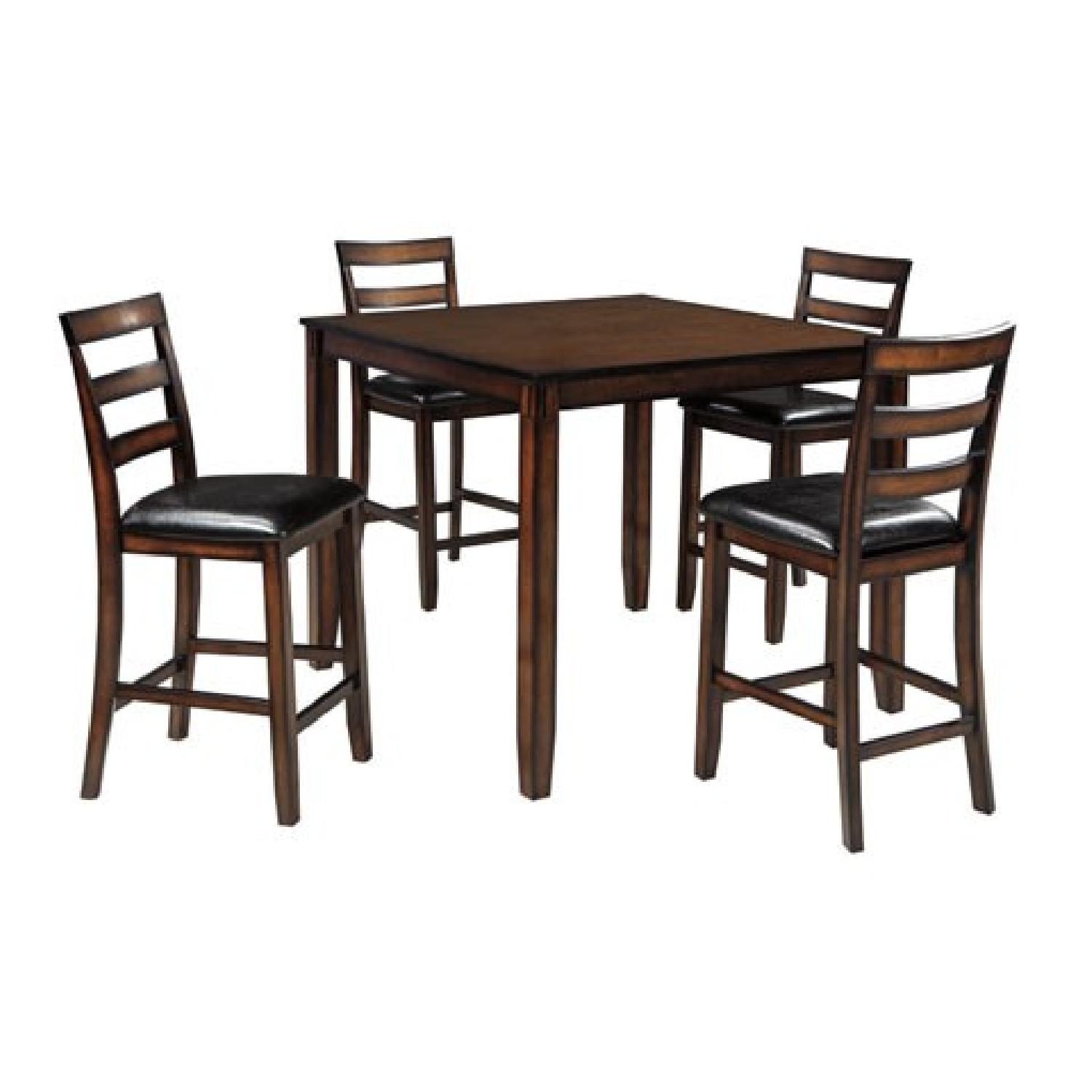Ashley's Coviar Counter Height 5 Piece Dining Set - image-0