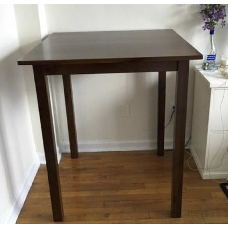 Wood Bar Table - image-1