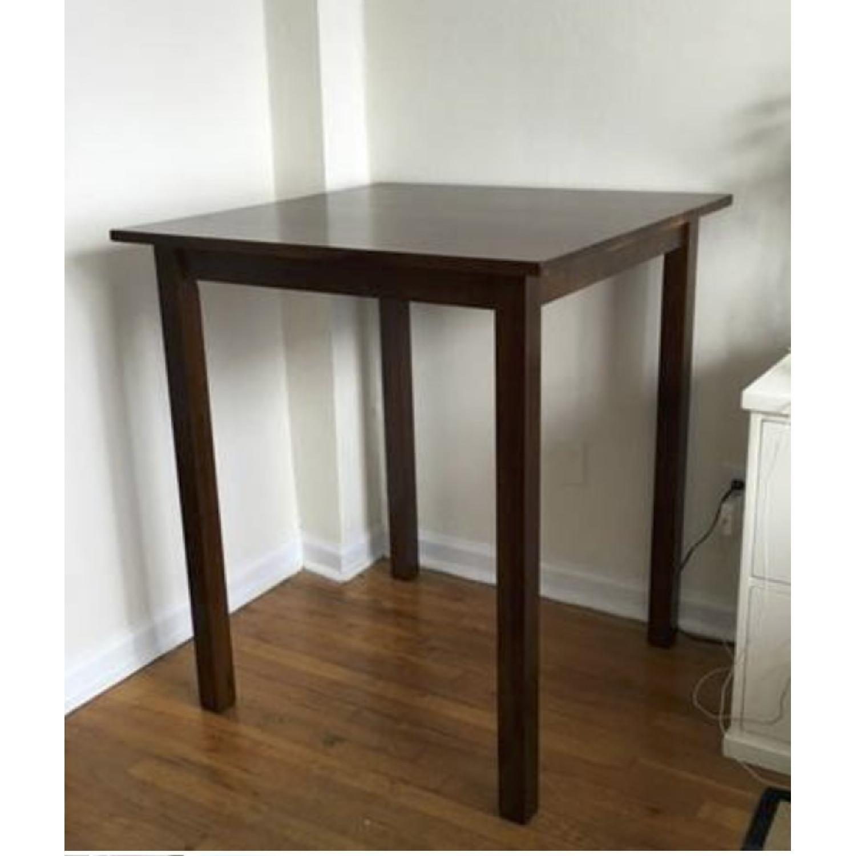 Wood Bar Table - image-2