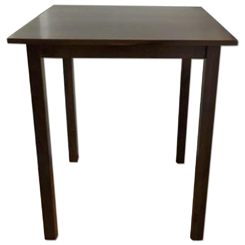 Wood Bar Table - image-0