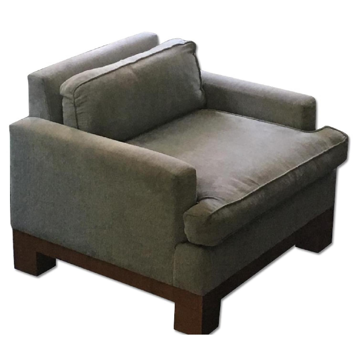 Low-Back Armchair - image-0