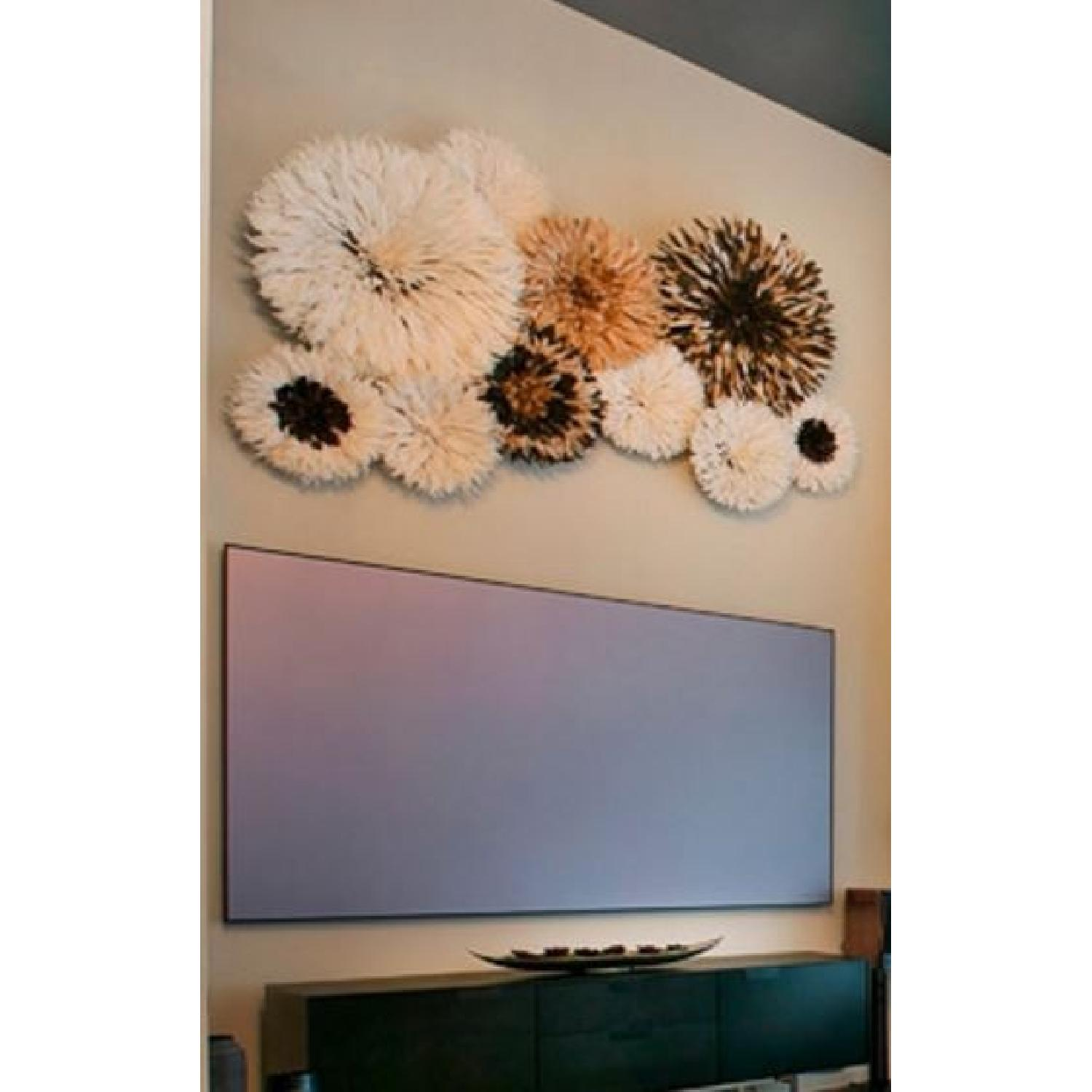 Custom Feather Art Mural - image-2