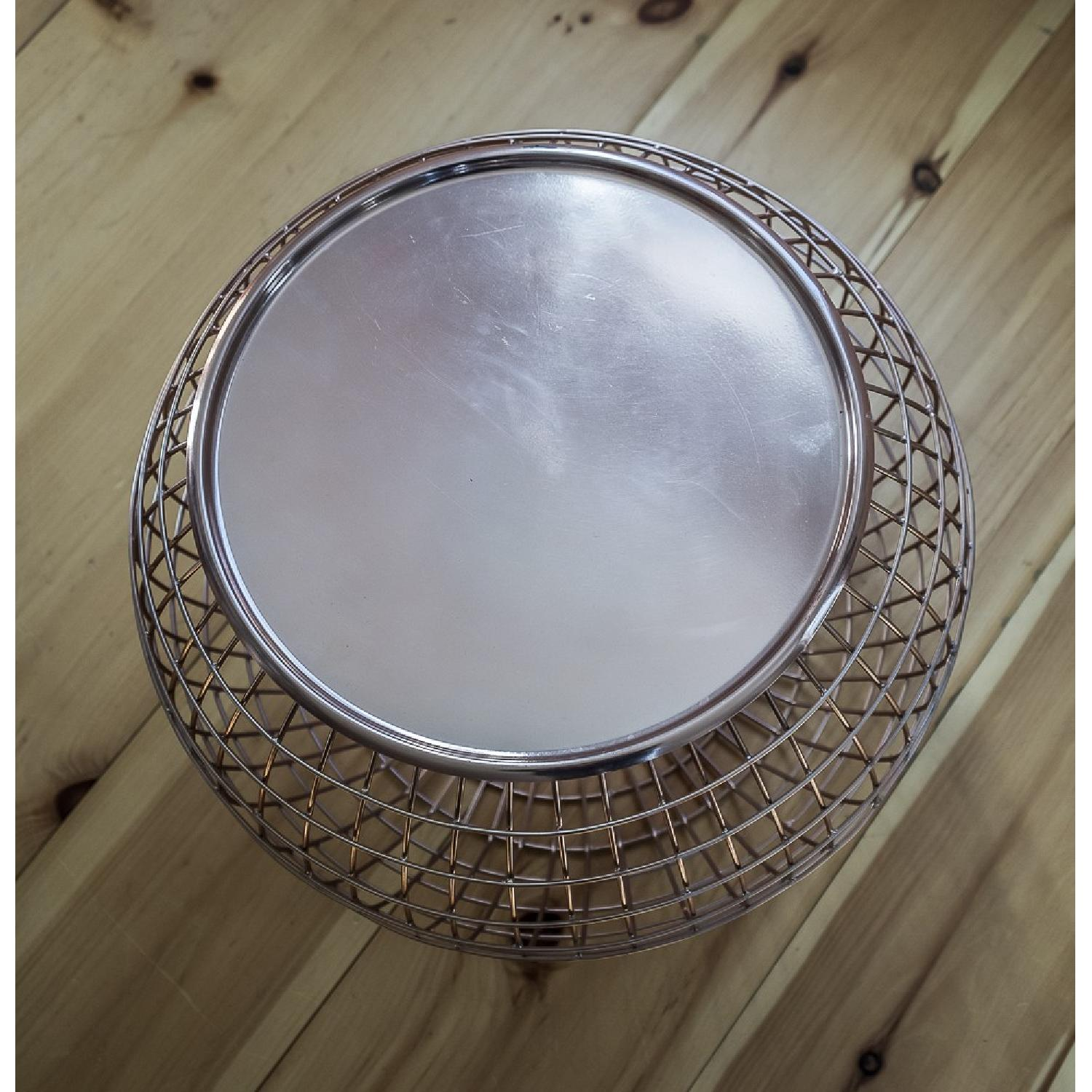 ABC Carpet and Home Copper Wire Tray Table - image-2